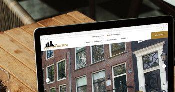 Meertalige responsive website voor Caesarea uit Amsterdam
