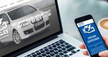 Nieuwe responsive website voor B&B Autotechniek uit Hem