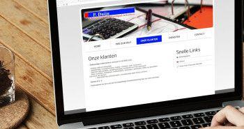 Nieuwe website voor P Duijn administratiekantoor uit Hoogkarspel