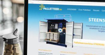 Nieuwe website voor Palletteer uit Wervershoof