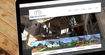 Nieuwe website voor RGB Architecten uit Lutjebroek