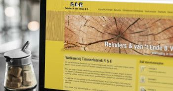 Nieuwe website voor Timmerfabriek Reinders & van 't Ende uit Hoogkarspel