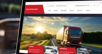 Nieuwe website voor Truck Service Visser B.V. uit Zwaag