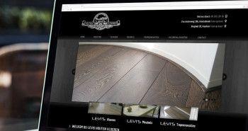 Responsive SEO geoptimaliseerde website voor Levi's Houten Vloeren