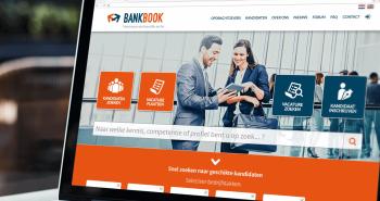 Responsive website voor Bankbook uit Amsterdam
