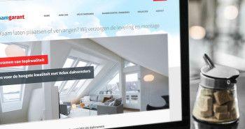 Responsive website voor Dakraam Garant uit Lutjebroek