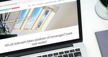 Responsive website voor Dakraam Laten Plaatsen uit Lutjebroek