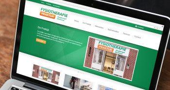 Responsive website voor Fysiotherapie Hoogkarspel - Westwoud met Facebook module