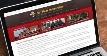 Responsive website voor Jan Reek uit Hoorn