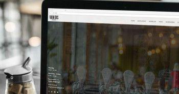 Responsive website voor Restaurant Van Dis uit Hoogkarspel