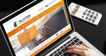 SEO geoptimaliseerde responsive website voor Bouwbedrijf Ruyter uit Zwaagdijk