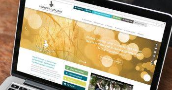 SEO geoptimaliseerde responsive website voor Stichting Human Concern
