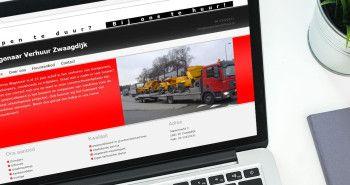 Seo geoptimaliseerde responsive website voor Wagenaar Verhuur uit Zwaagdijk