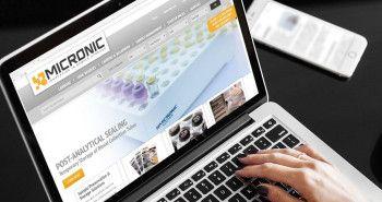 Vernieuwde responsive website voor Micronic